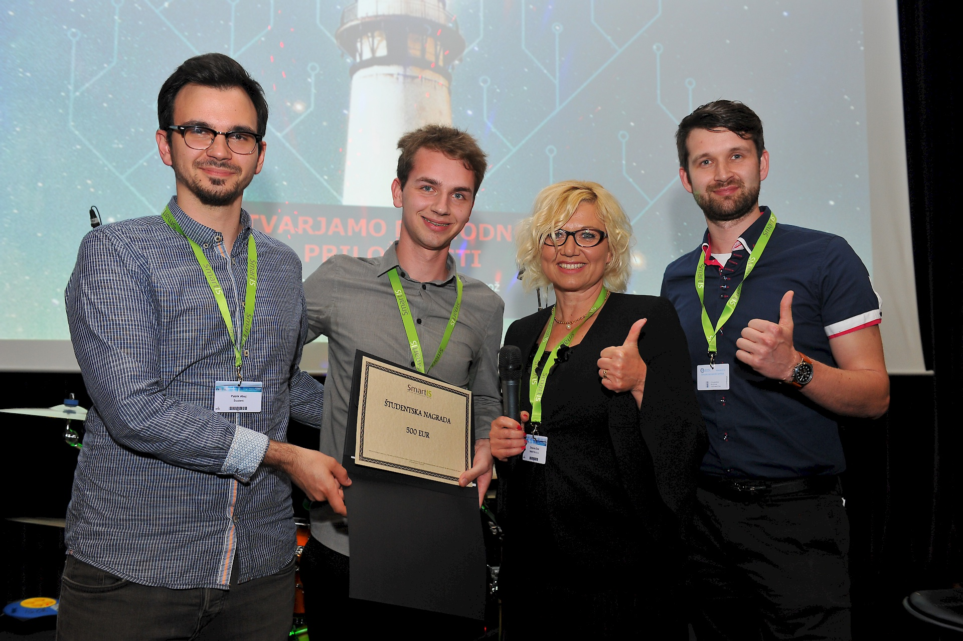 "First place for FERi students at the conference ""Days of Slovenian Informatics"""