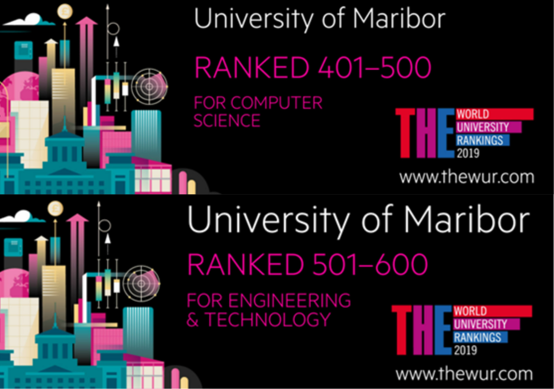 University of Maribor on Times World University Rankings
